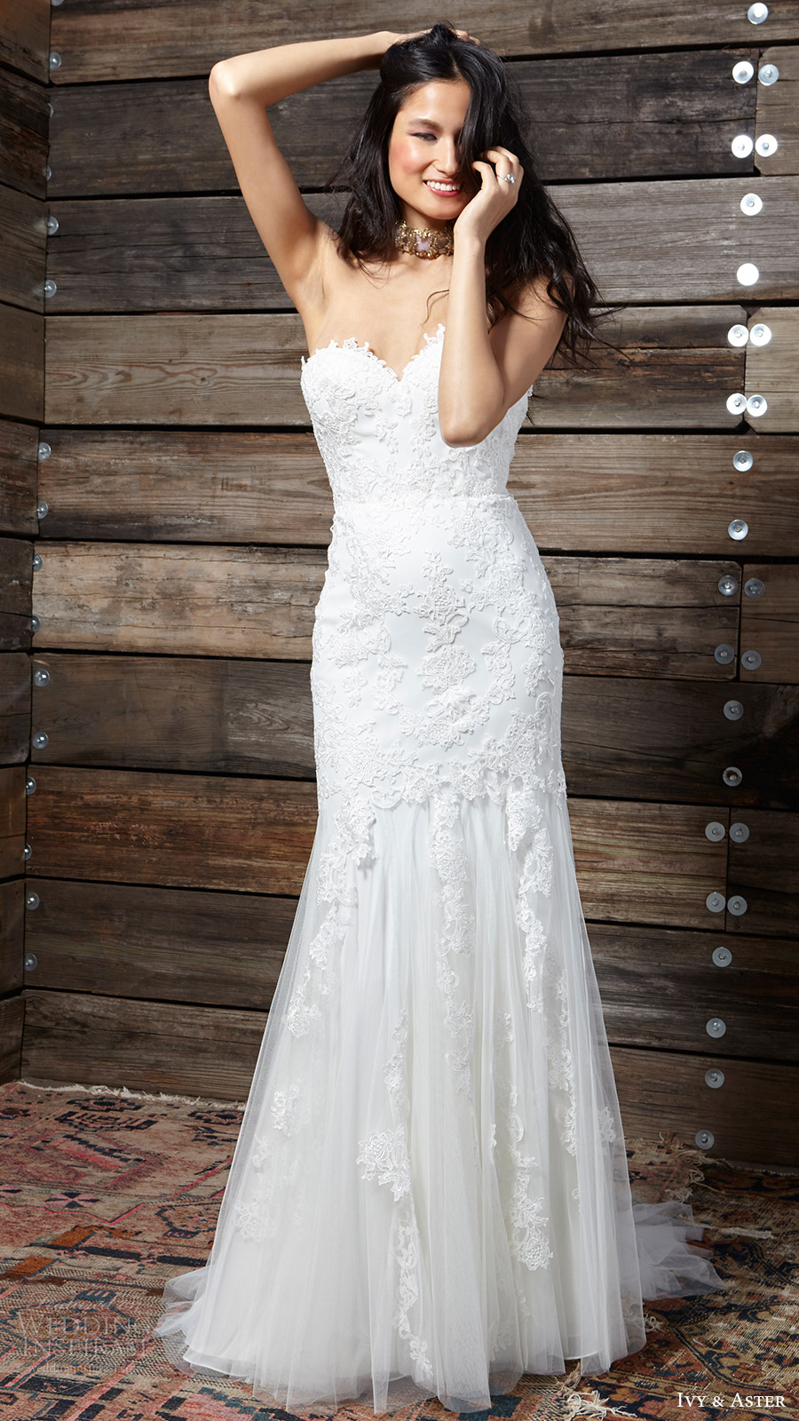 Sweetheart Trumpet Wedding Dresses 95 Fresh ivy aster bridal spring