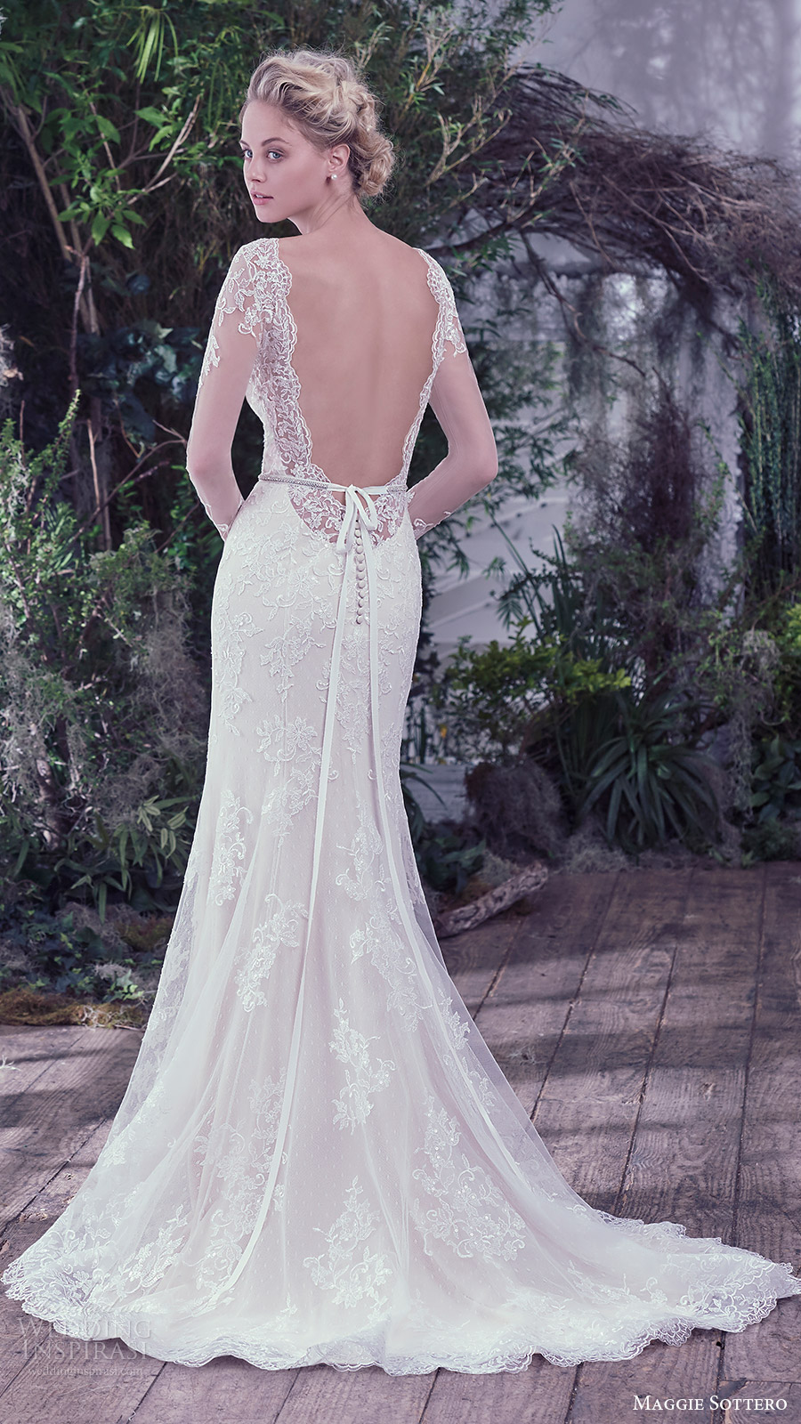 Maggie Sottero Lace Wedding Dress 11