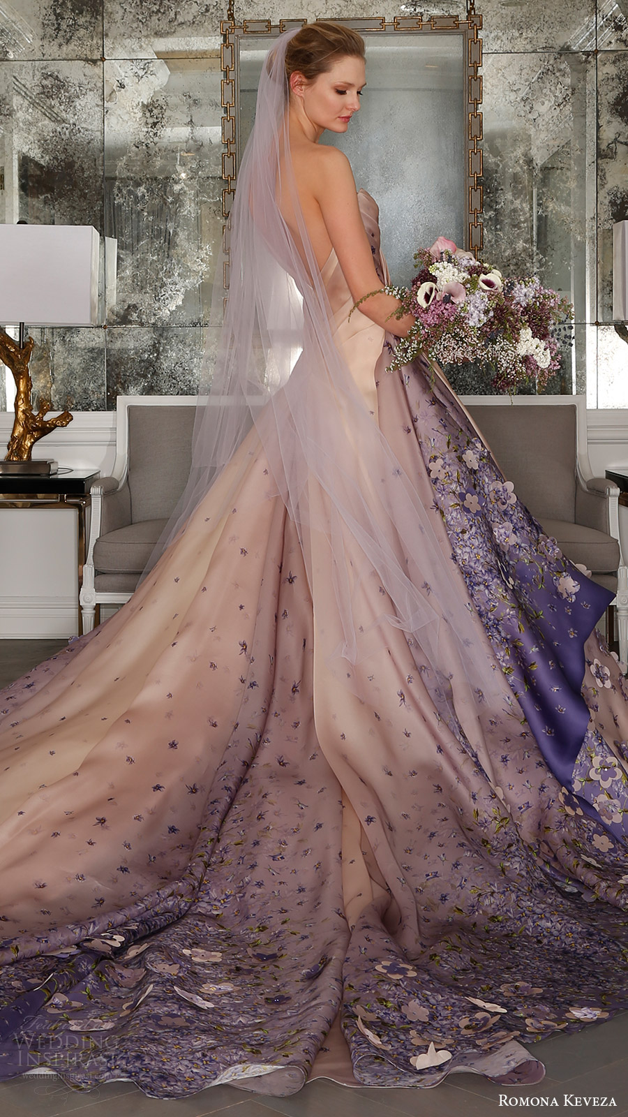 Ball Gown Wedding Dresses With Color : Romona keveza spring wedding dresses ode to paris