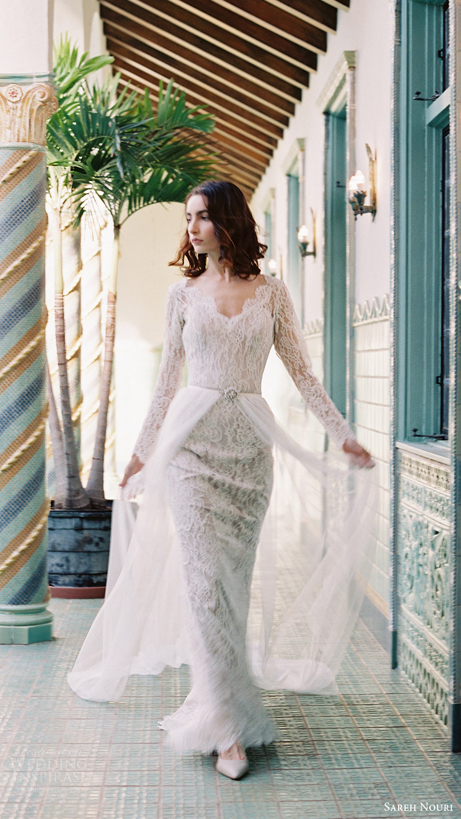 Sareh nouri bridal spring 2017 wedding dresses wedding for How to dress for a morning wedding