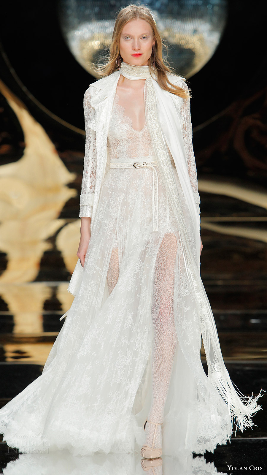Yolancris Long Sleeve Wedding Dress : Yolan cris bridal wedding dresses inspirasi
