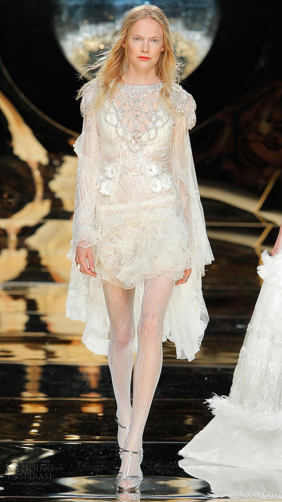 Short Couture Wedding Dresses 91 Fresh yolan cris bridal long