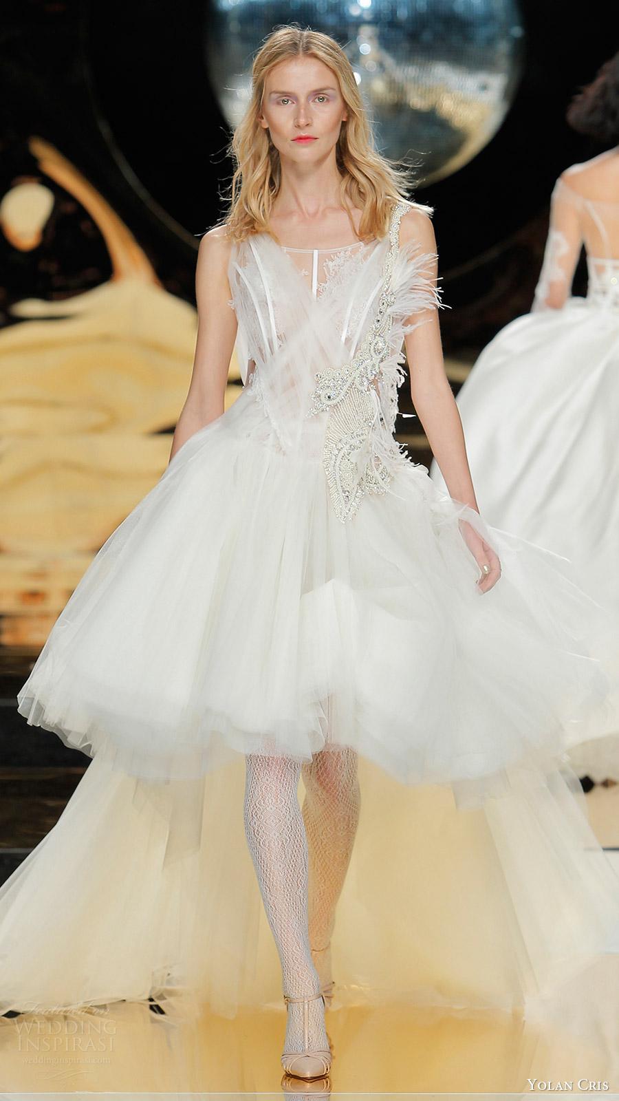 Yolan Cris Bridal 2017 Wedding Dresses - BridalPulse