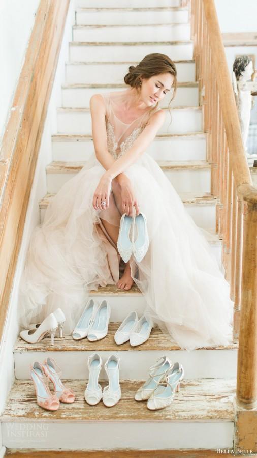 Bella Belle sepatu pernikahan 2016 lookbook kekal Rachel fotografi ...
