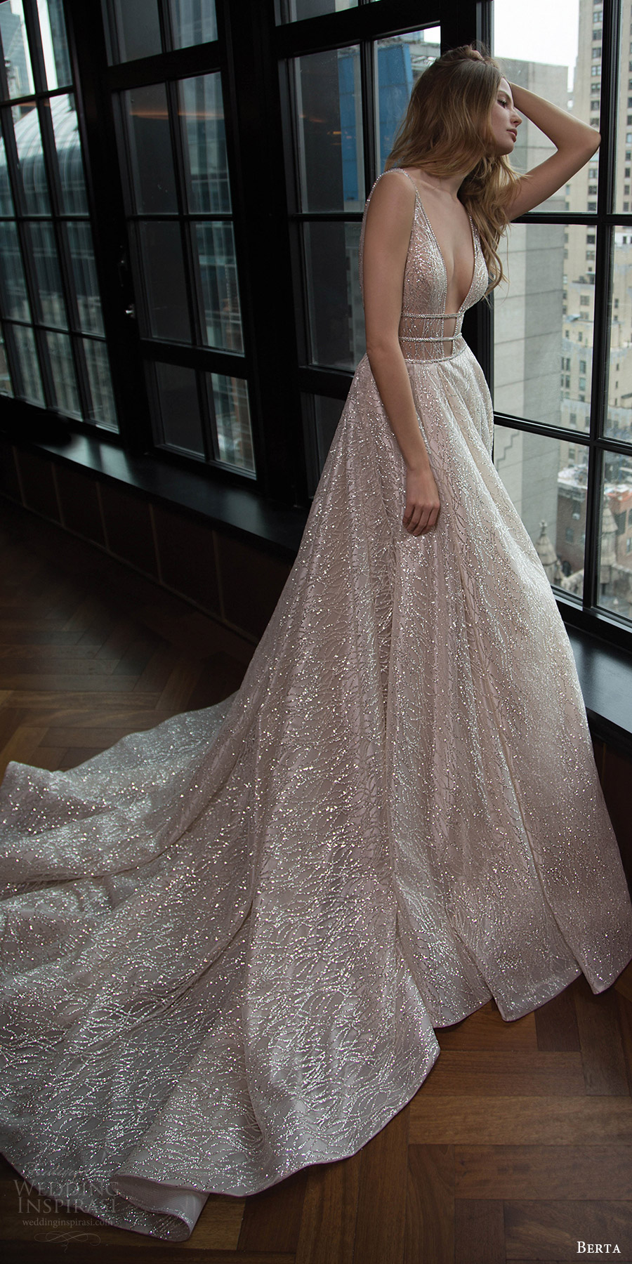 Berta bridal fall 2016 wedding dresses campaign lookbook for Where to buy berta wedding dresses