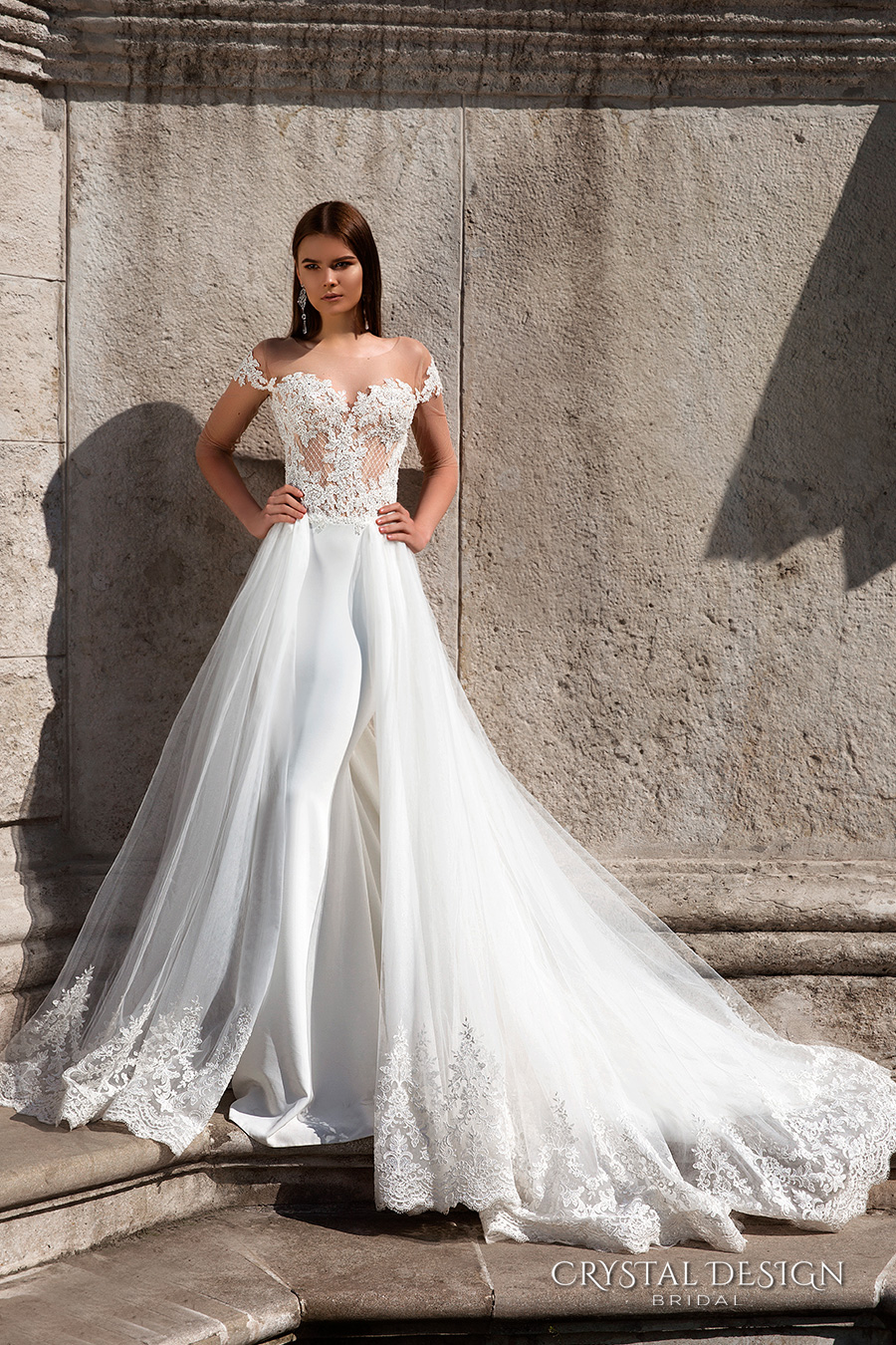 Wedding Gowns With Designs : Crystal design wedding dresses inspirasi