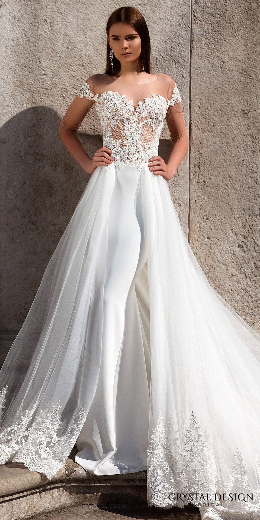 12cf9799cd Crystal Design 2016 Wedding Dresses | Wedding Inspirasi