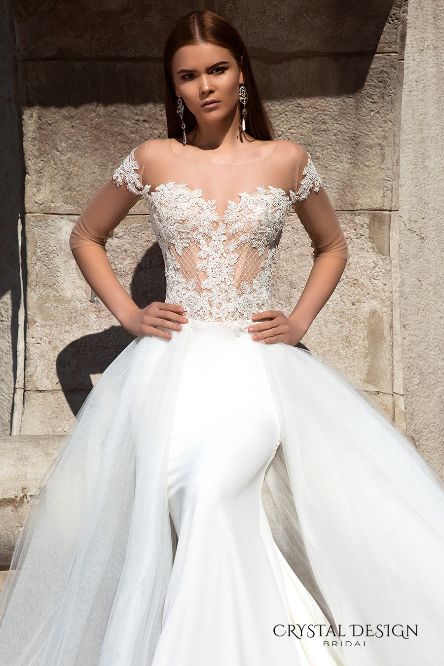 f45808f757c9f Crystal Design 2016 Wedding Dresses | Wedding Inspirasi