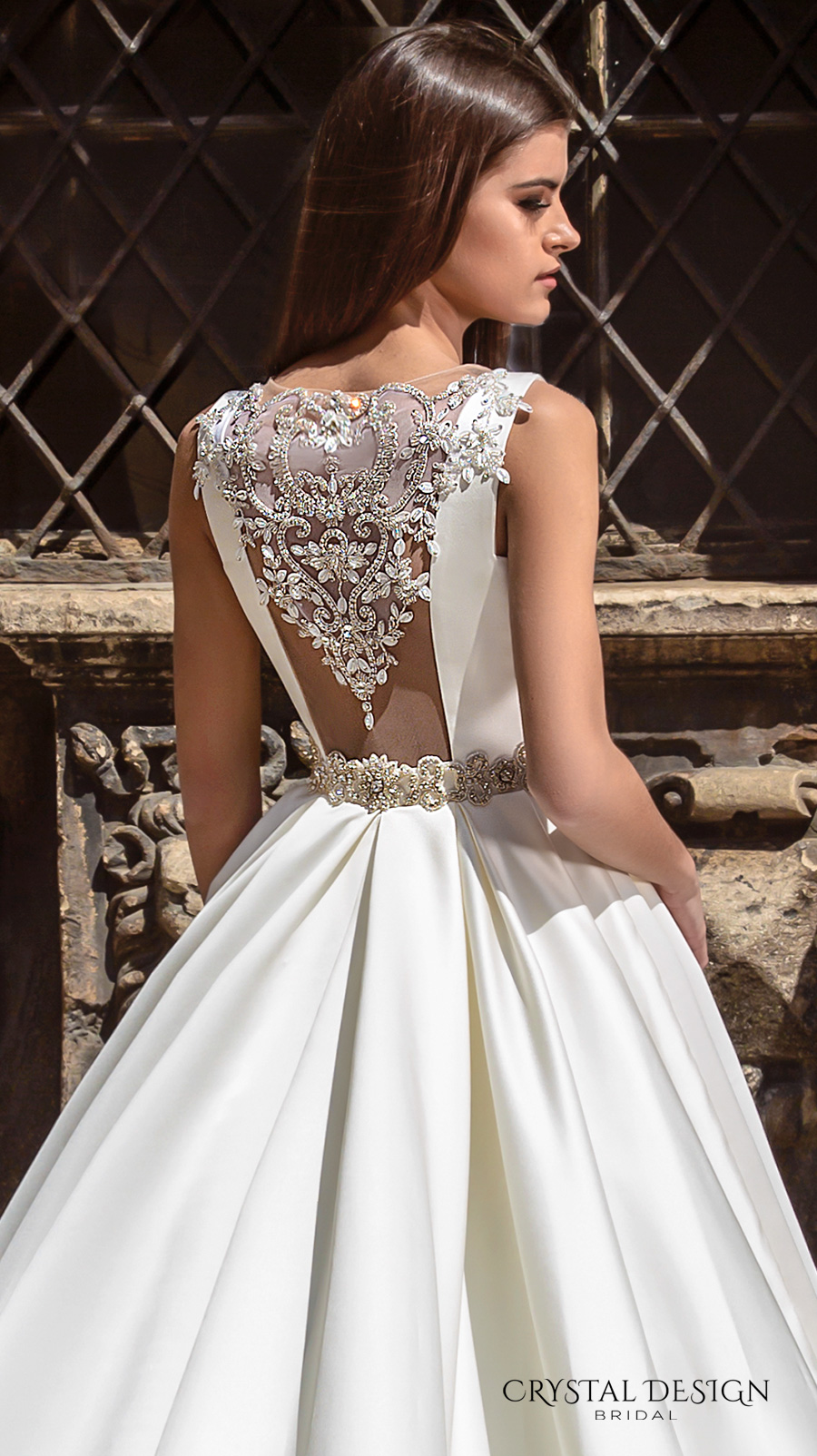 Embellished belt for wedding dress
