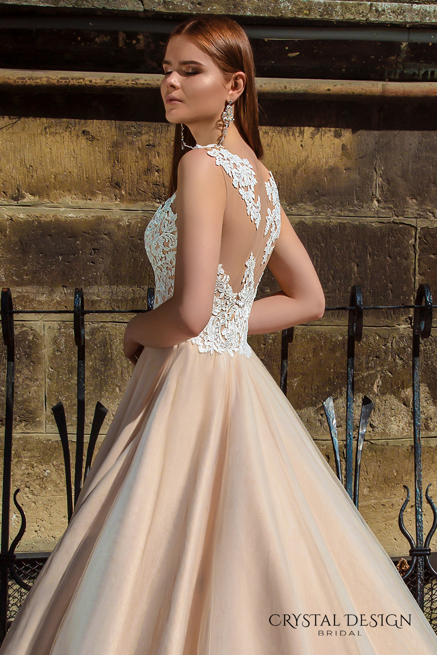 Ball Gown Wedding Dresses With Color : Crystal design wedding dresses inspirasi