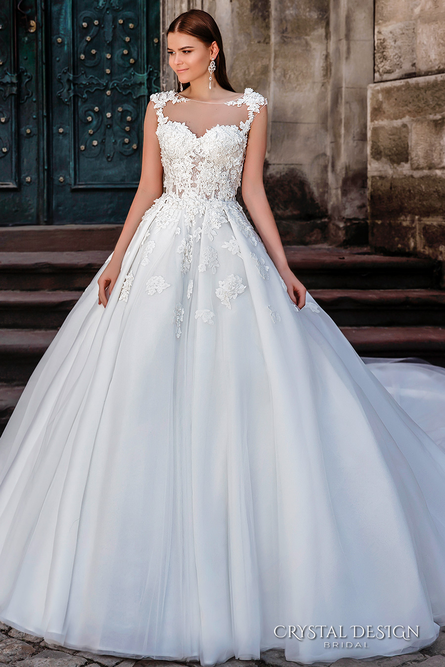 Wedding Dresses With Swarovski Crystals