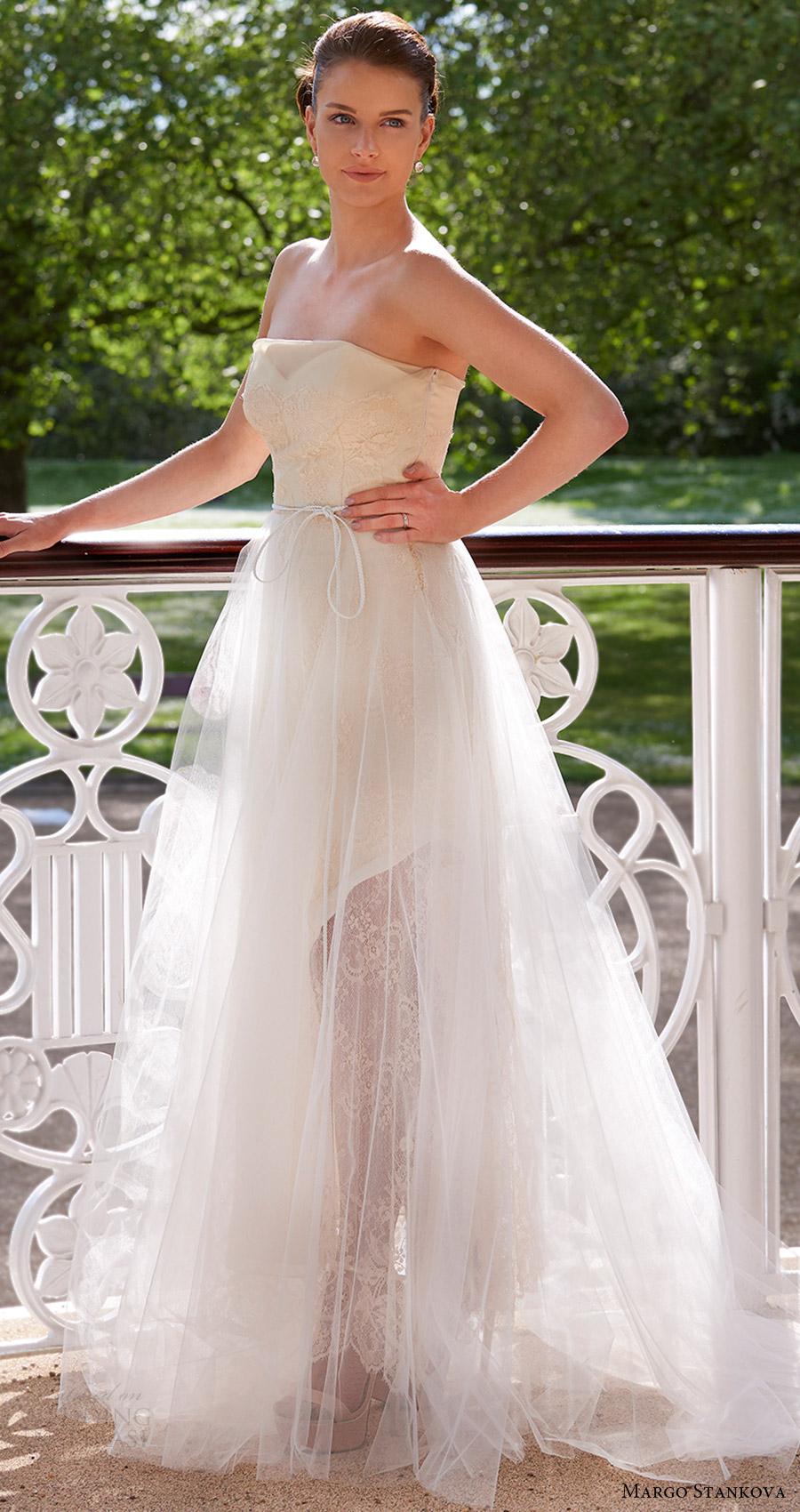 margo stankova bridal 2017 strapless illusion sweetheart ball gown wedding dress (04) mv