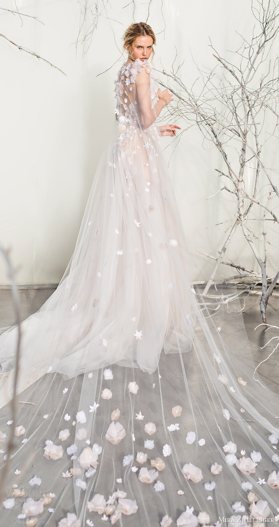 Long veil wedding dresses  Alleta David alletad on Pinterest