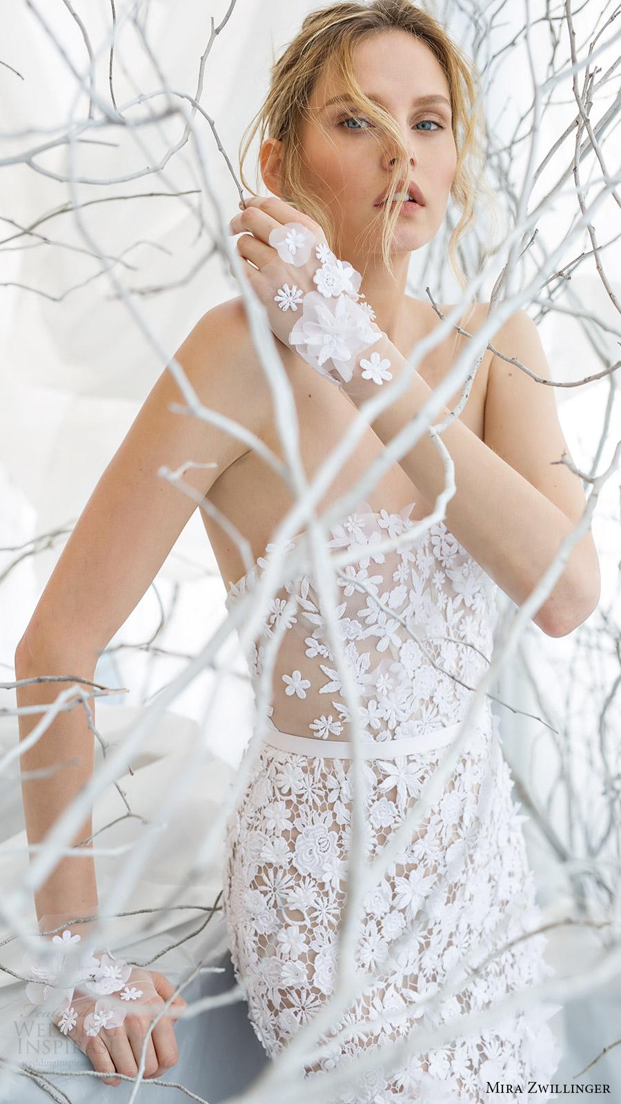 mira zwillinger bridal 2017 strapless sweetheart trumpet wedding dress (lilya) zv