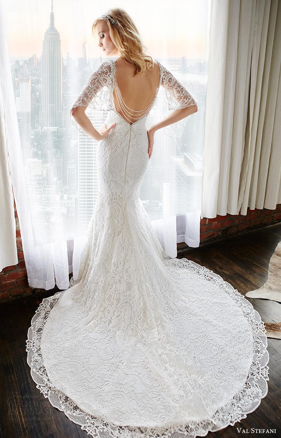 Gothic Style Wedding Dresses 33 Spectacular val stefani bridal fall