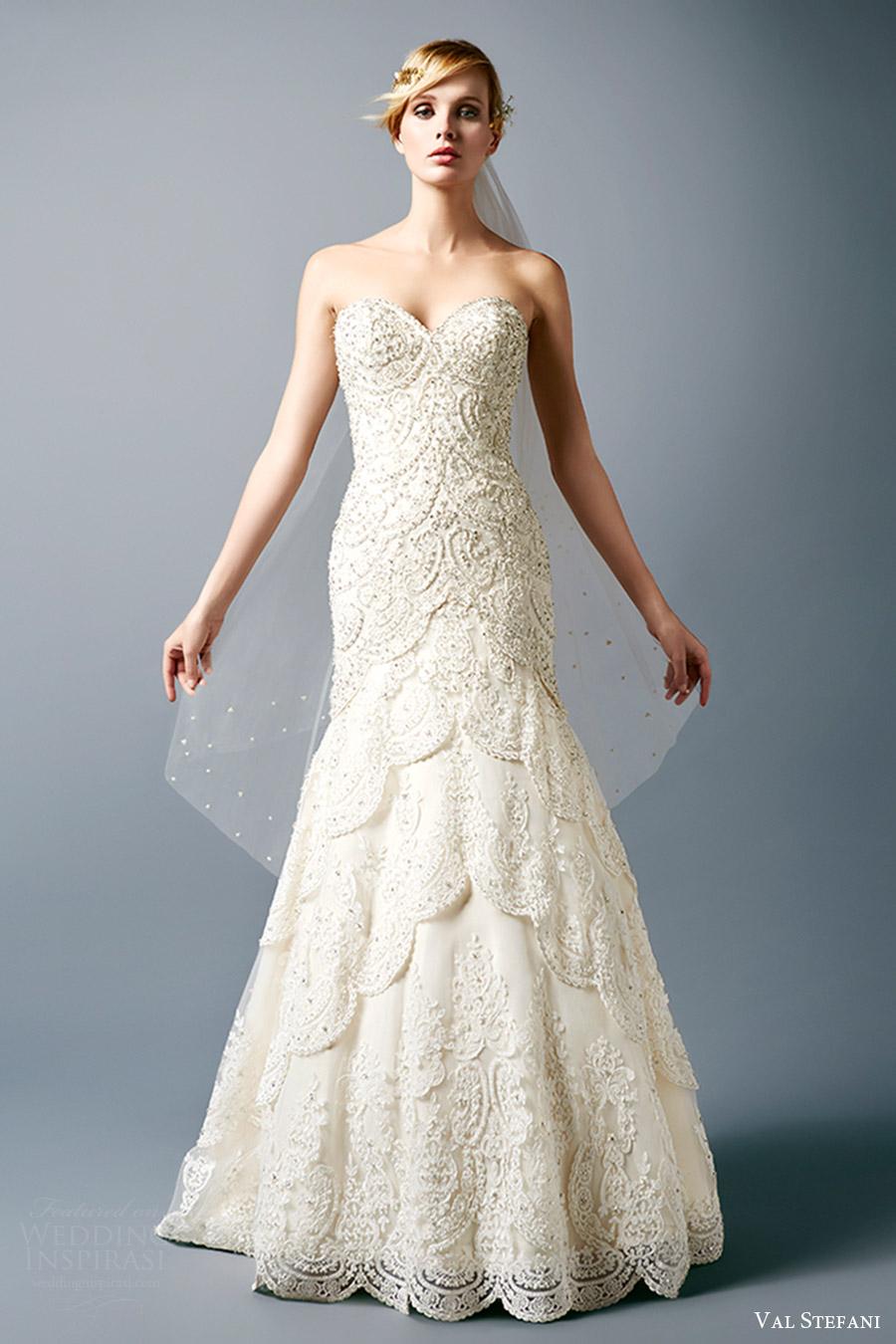 Gothic Style Wedding Dresses 55 Best val stefani bridal fall