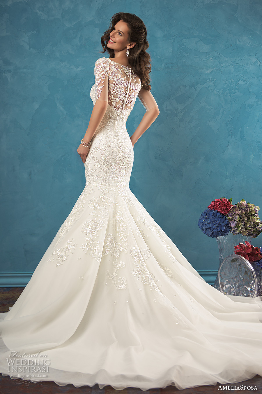 Non Traditional Wedding Dresses Mermaid