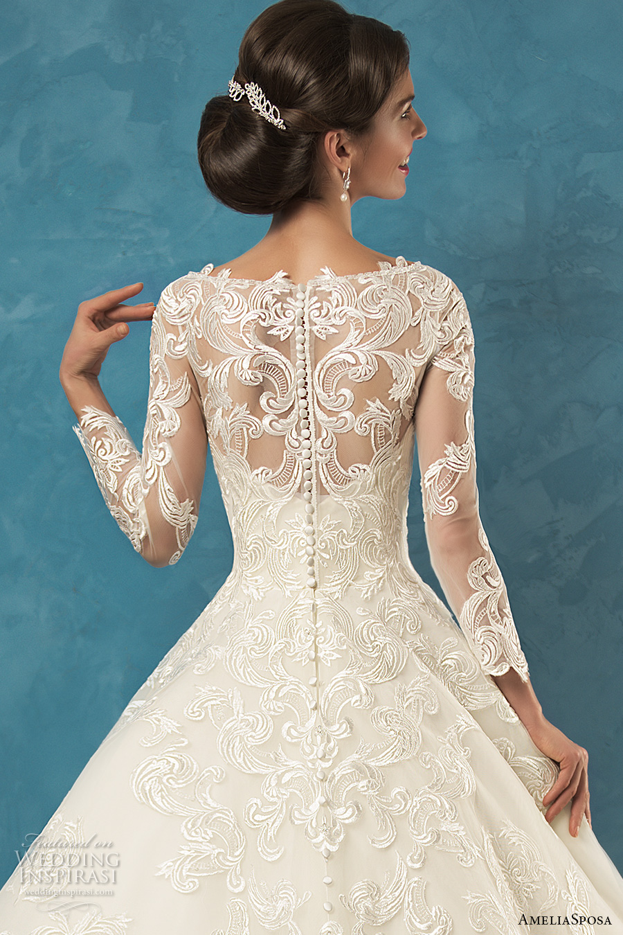 8a256dbd82 Amelia Sposa 2017 Wedding Dresses   Wedding Inspirasi