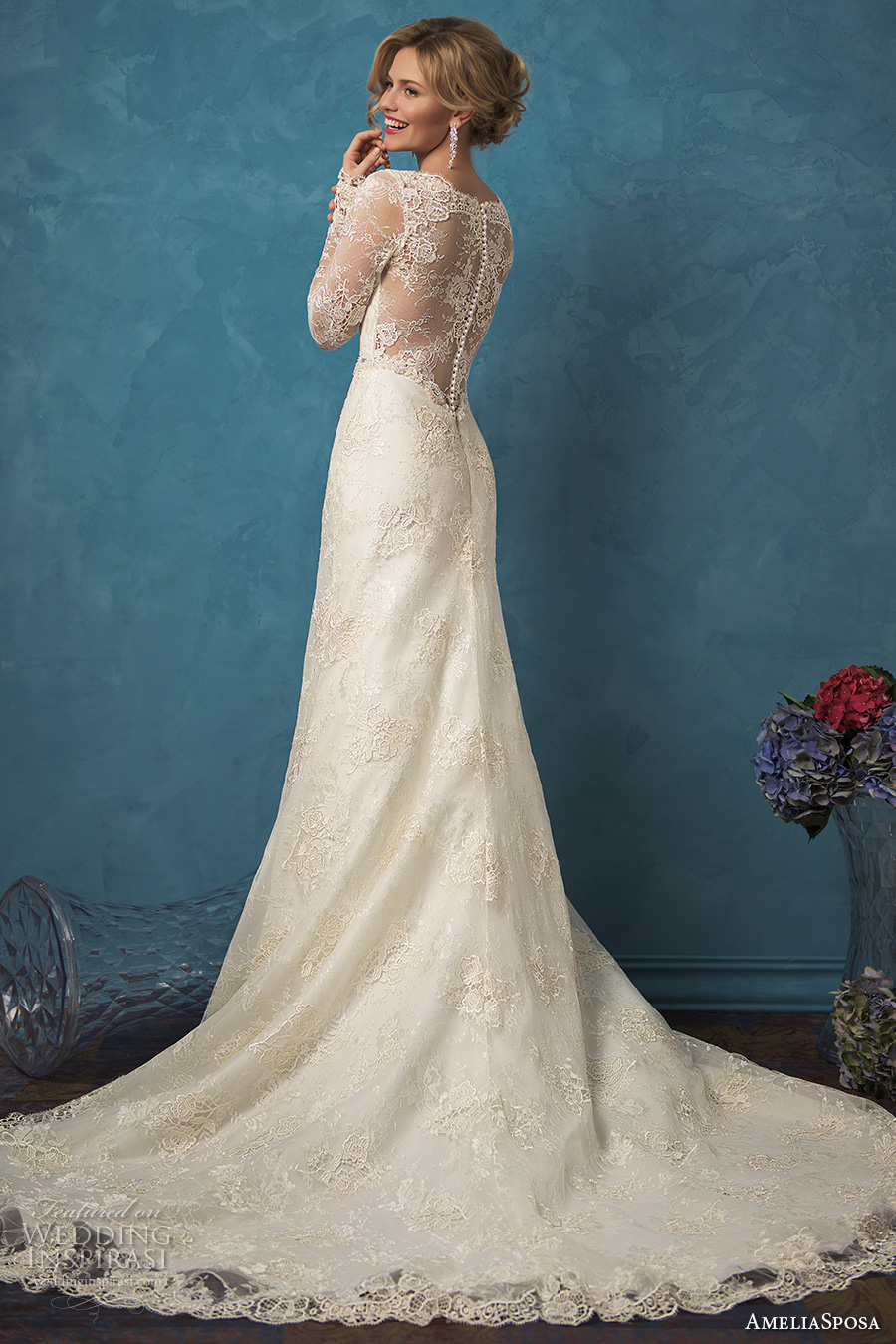 Amelia Sposa 2017 Wedding Dresses - BridalPulse