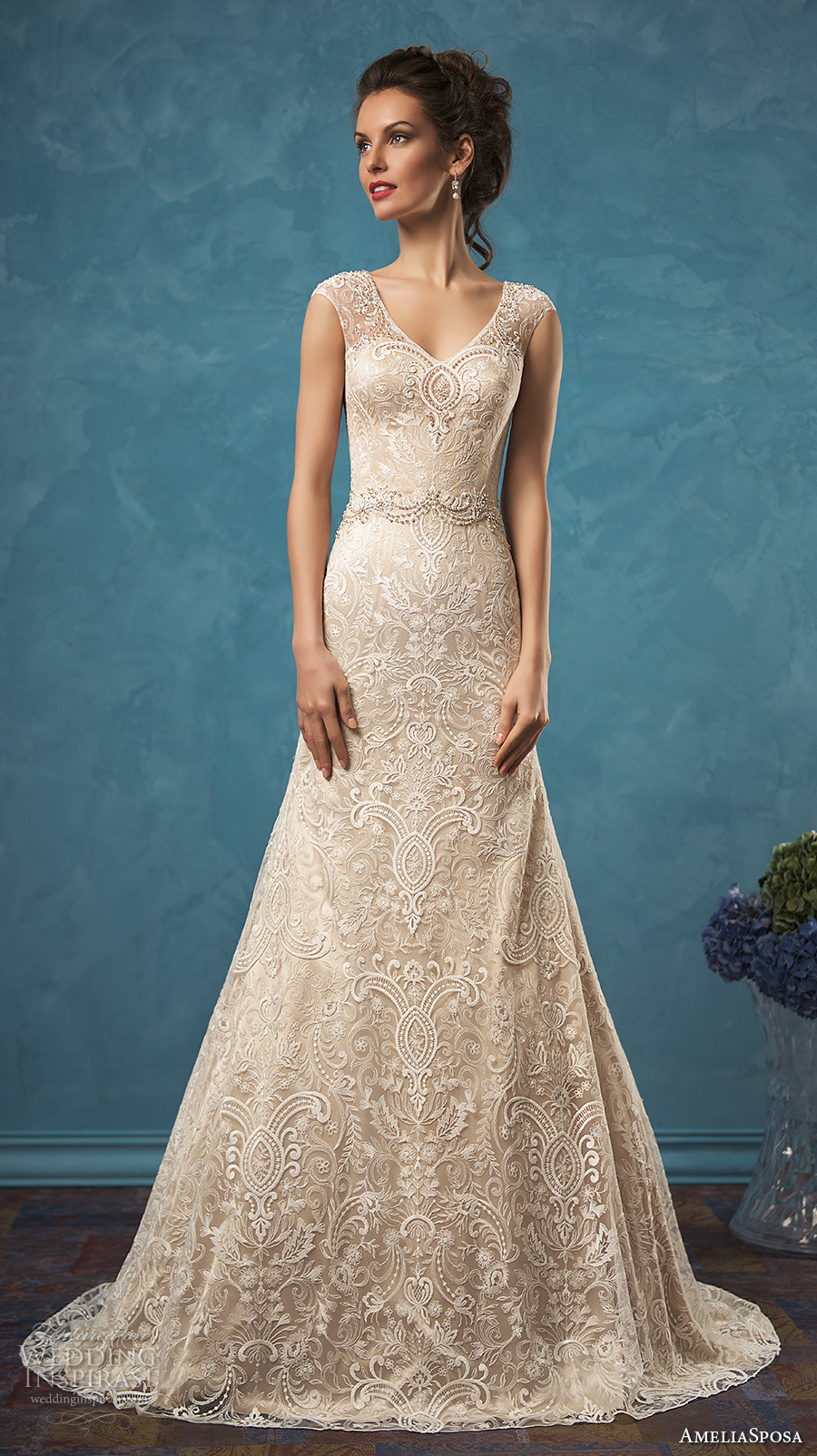 Amelia Sposa 2017 Wedding Dresses | Wedding Inspirasi