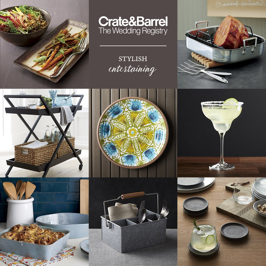 Crate And Barrel: Beyond The Basics Wedding Registry Ideas
