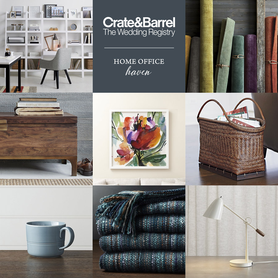 crate and barrel beyond the basics wedding registry ideas
