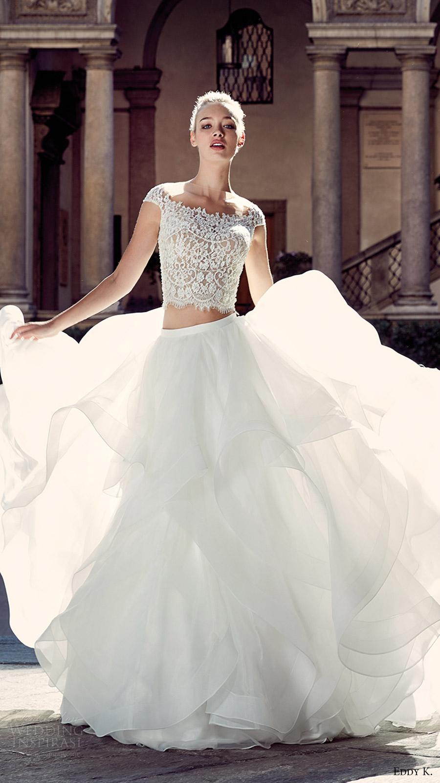 Eddy K 2017 Wedding Dresses Milano Bridal Collection