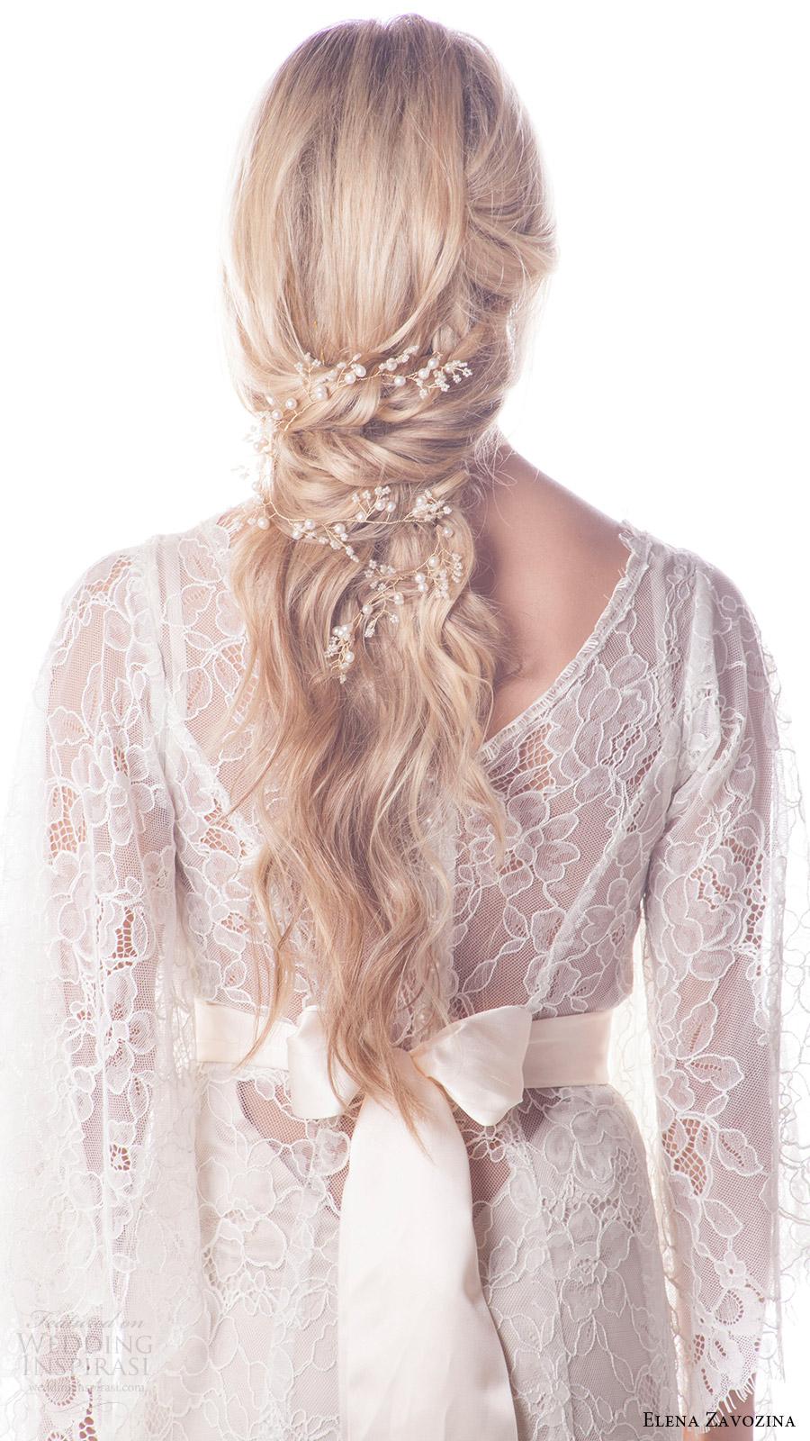 elena zavozina bridal accessories 2016 wedding accessories belts bv romantic hair