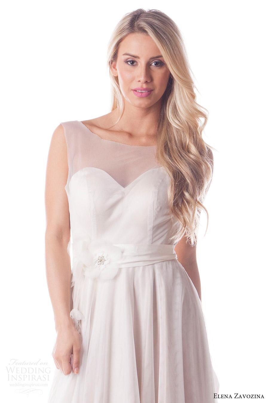 elena zavozina bridal accessories 2016 wedding floral sash belt (marguerite) mv