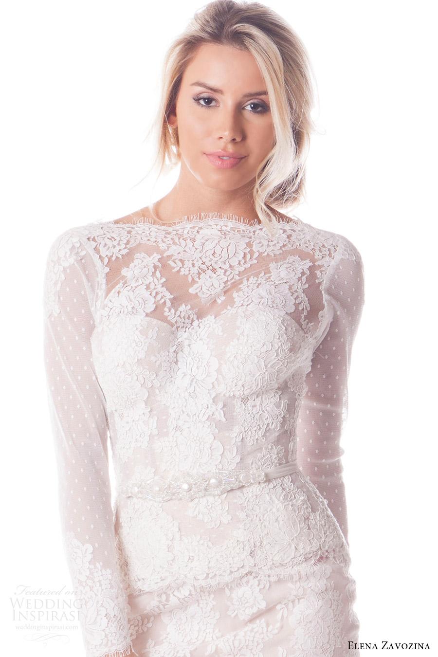 elena zavozina bridal accessories 2016 wedding pearl sash belt (viola) fv