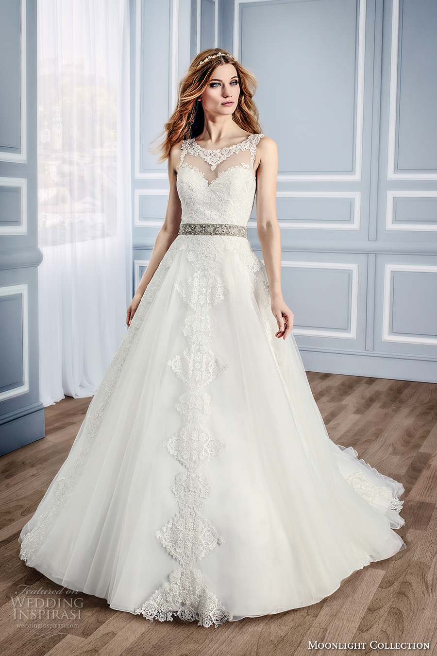 Wedding Dress With Cathedral Train