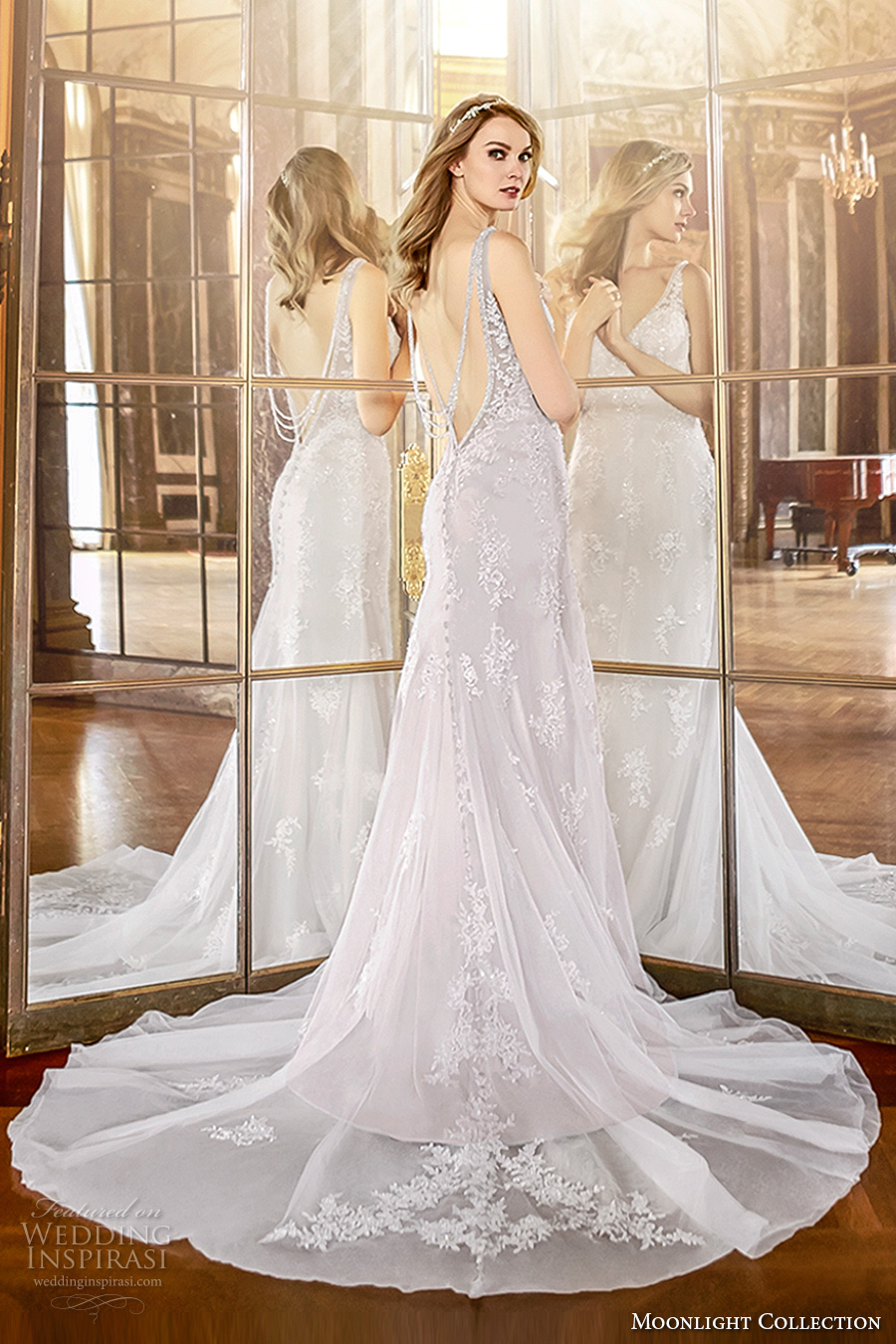 Open Low Back Wedding Dresses 71 Perfect moonlight collection fall bridal
