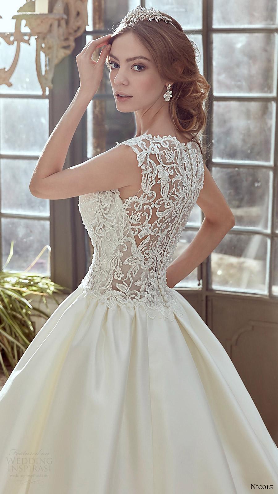 Cap Sleeve Wedding Gown 73 Amazing nicole spose bridal cap