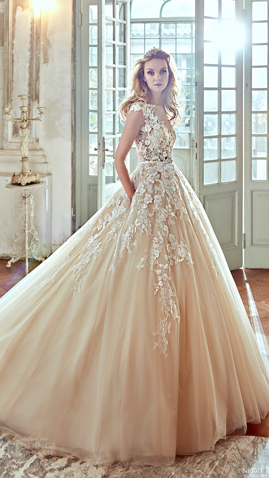 Ball Gown Wedding Dresses With Color : Popular wedding dresses in part ball gowns a