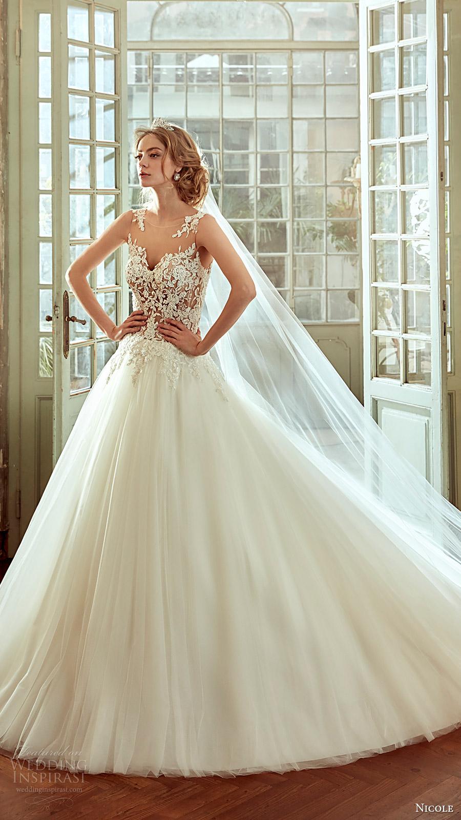 Nicole 2017 wedding dresses wedding inspirasi for Nicole spose wedding dress prices