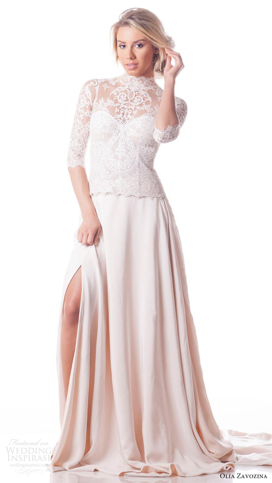 Customize A Wedding Dress 32 Amazing olia zavozina bridal spring
