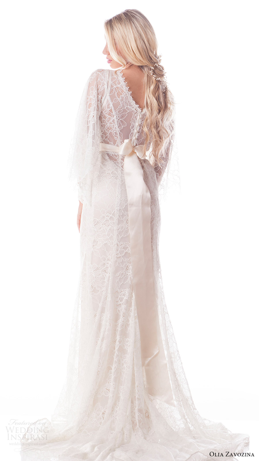 Olia zavozina spring 2017 wedding dresses wedding inspirasi for Lace overlay wedding dress