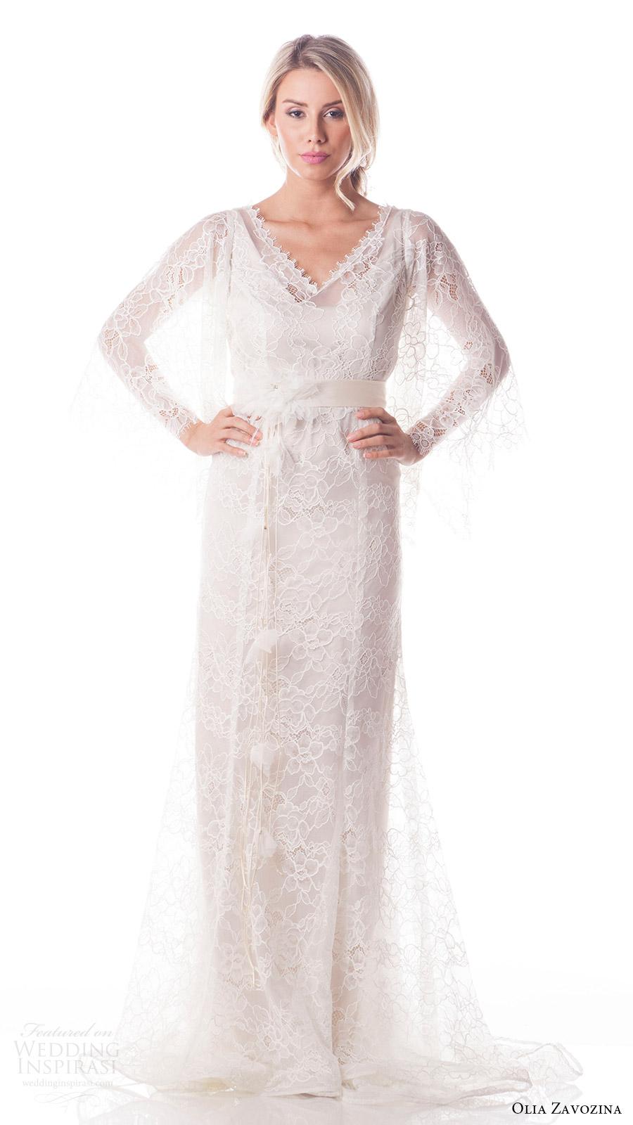 Butterfly Wedding Gown 52 Beautiful olia zavozina bridal spring