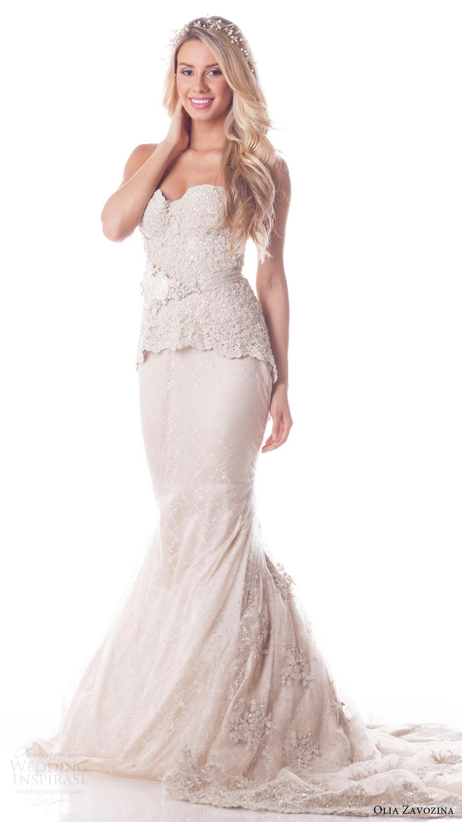 Cheap Wedding Dress Sashes 31 Fresh olia zavozina bridal spring