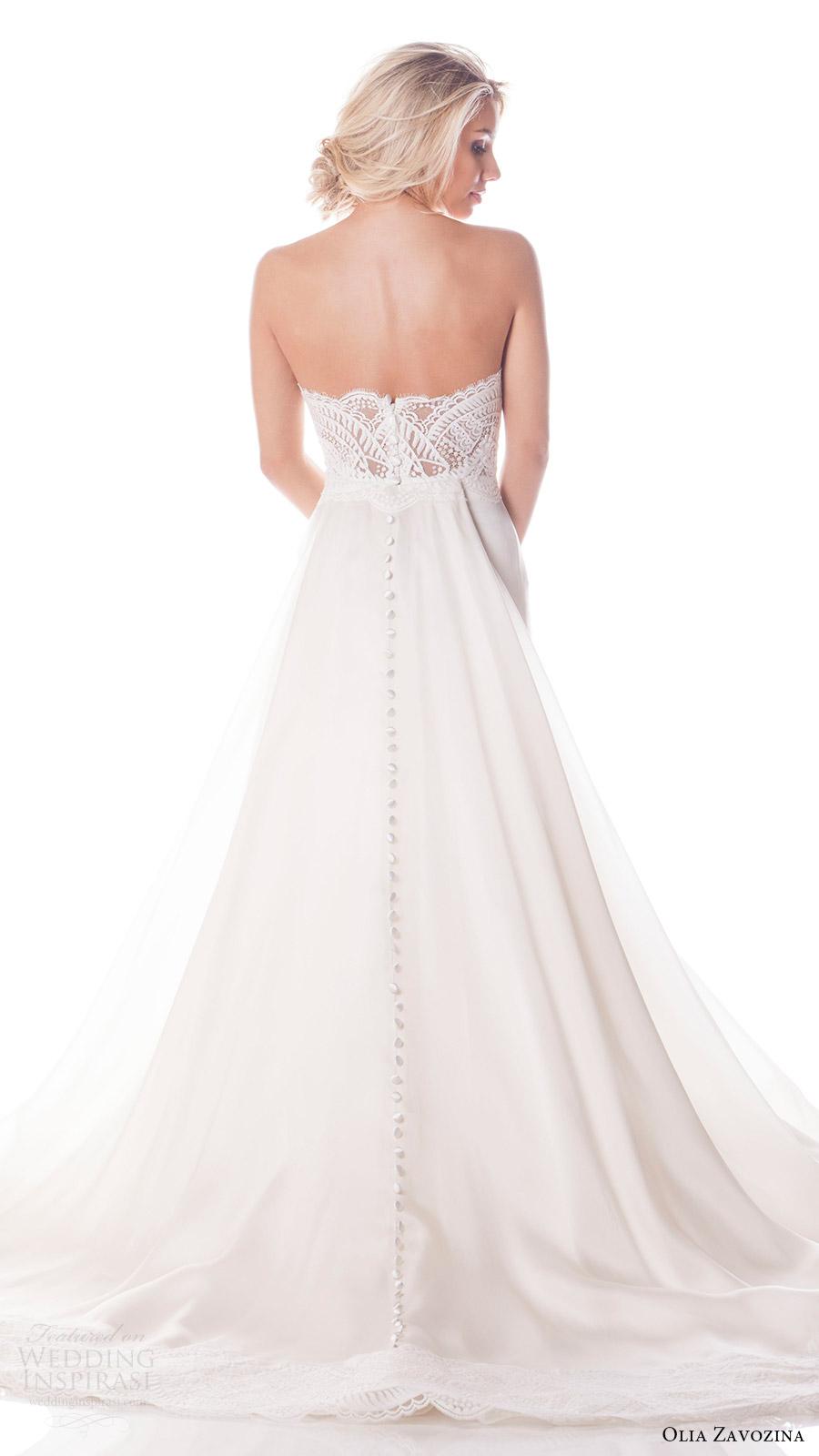 Customize Wedding Dress 54 Ideal olia zavozina bridal spring
