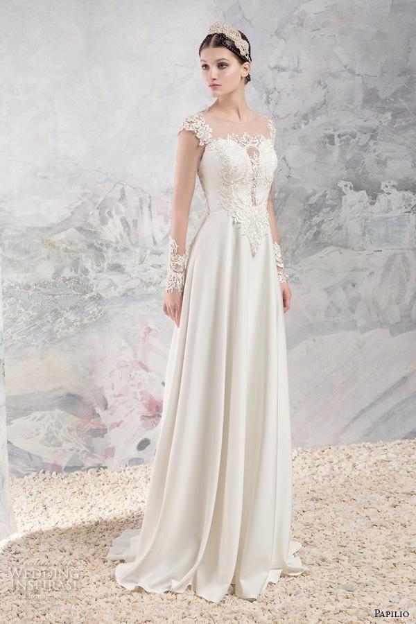 Deco Wedding Dress 59 Best papilio bridal cap sleeves