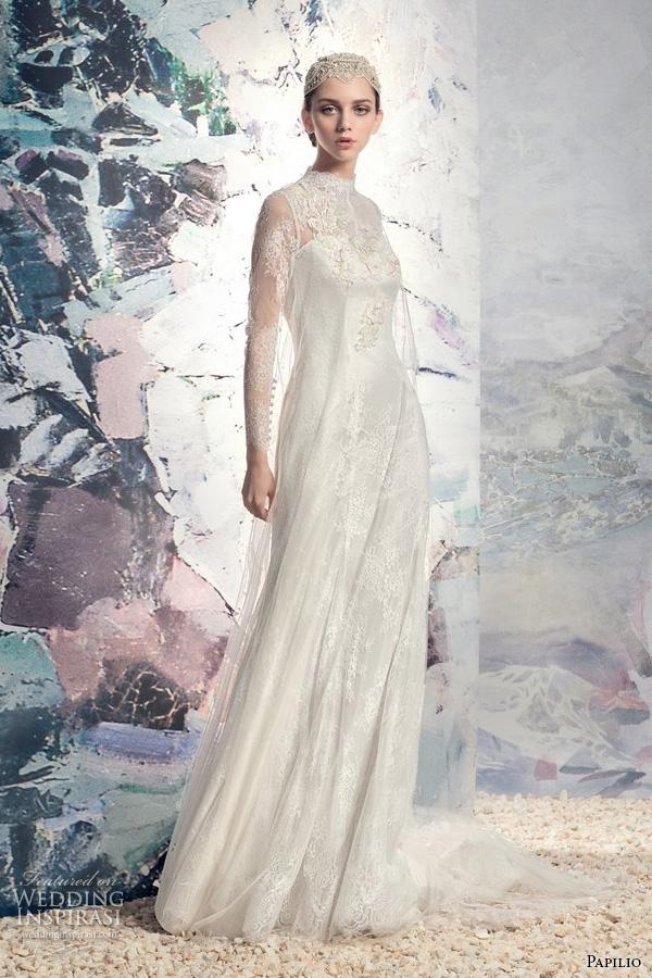 Vintage Clothing Wedding Dresses 95 Amazing papilio bridal lace long