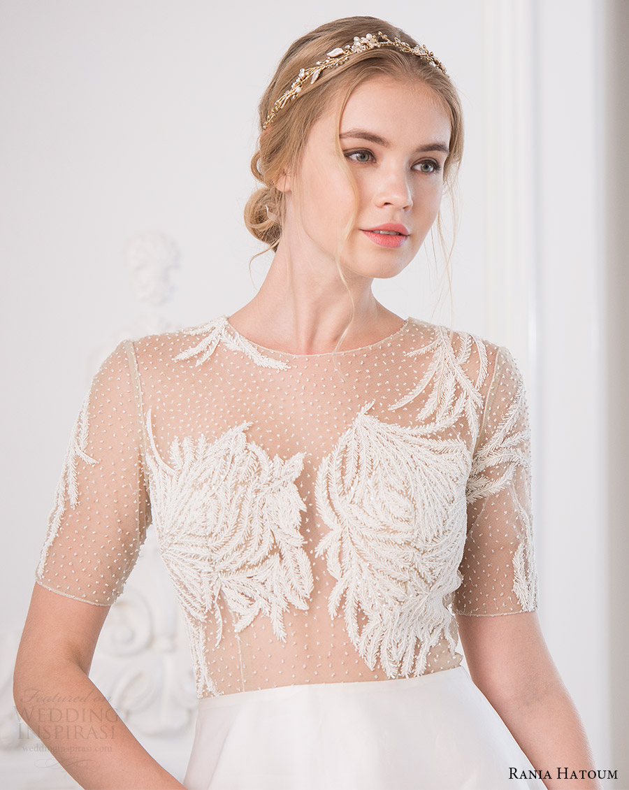 Short Ball Gown Wedding Dresses 85 Stunning rania hatoum bridal spring