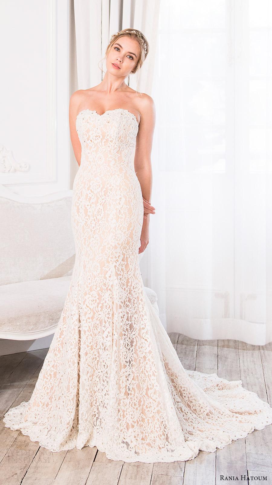 Jewelry For Strapless Wedding Dress 68 Fancy rania hatoum bridal spring