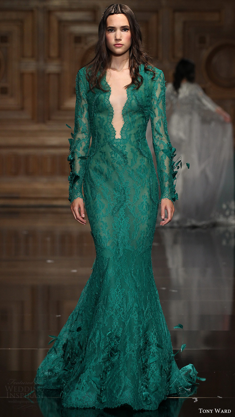 Green Couture Gown