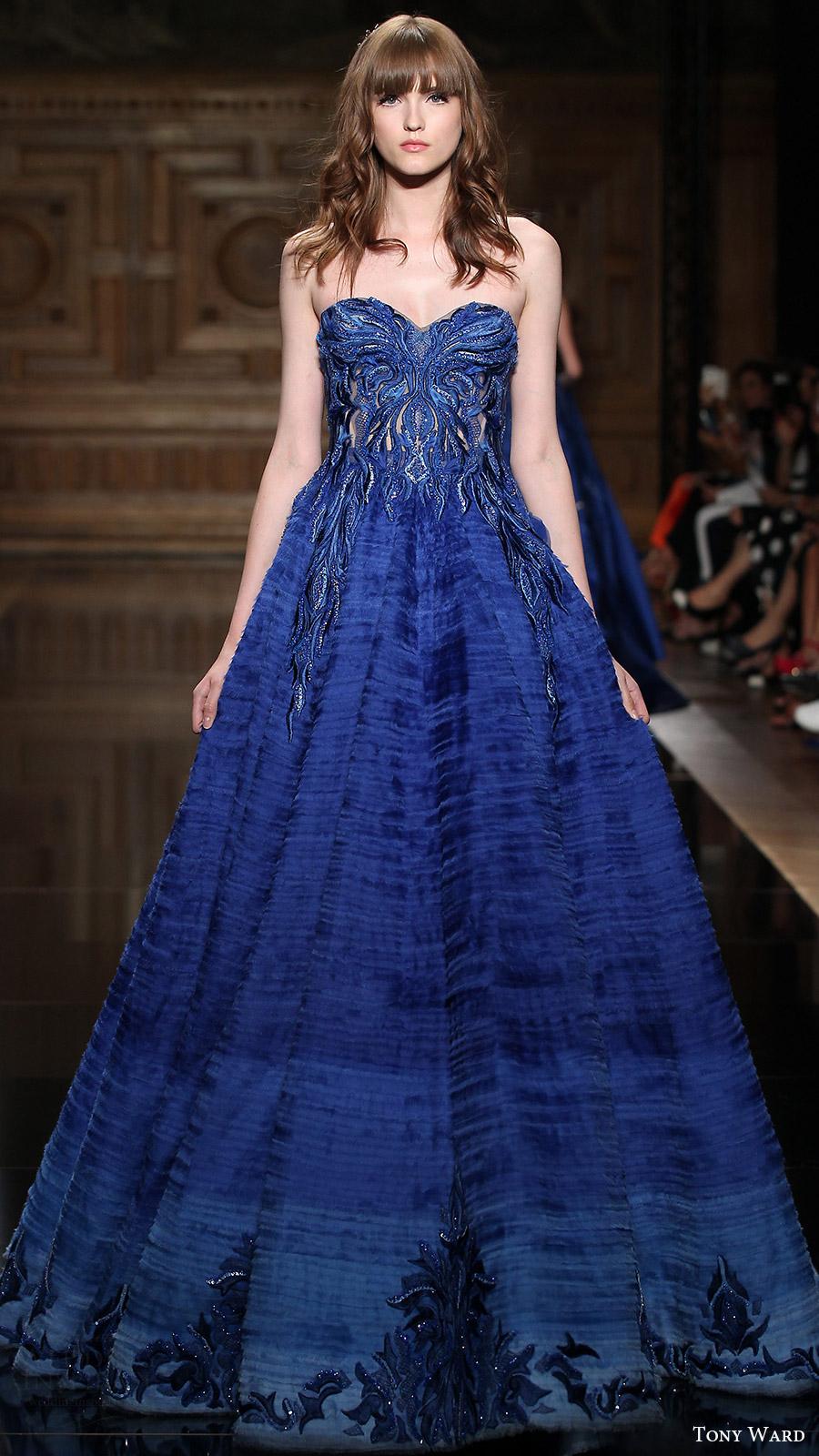 Black And Blue Wedding Dress 24 Fresh tony ward couture fall