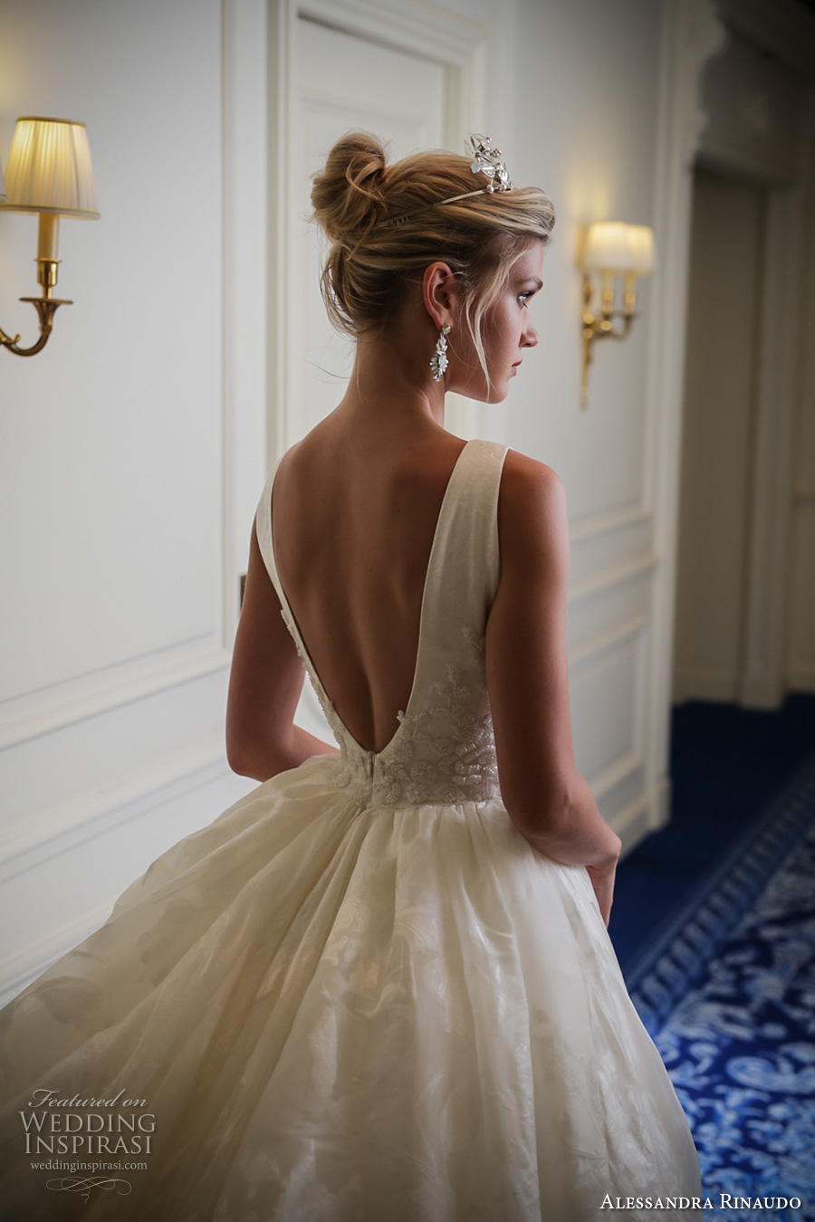 Alessandra rinaudo bridal couture 2017 wedding dresses for Pretty ball gown wedding dresses