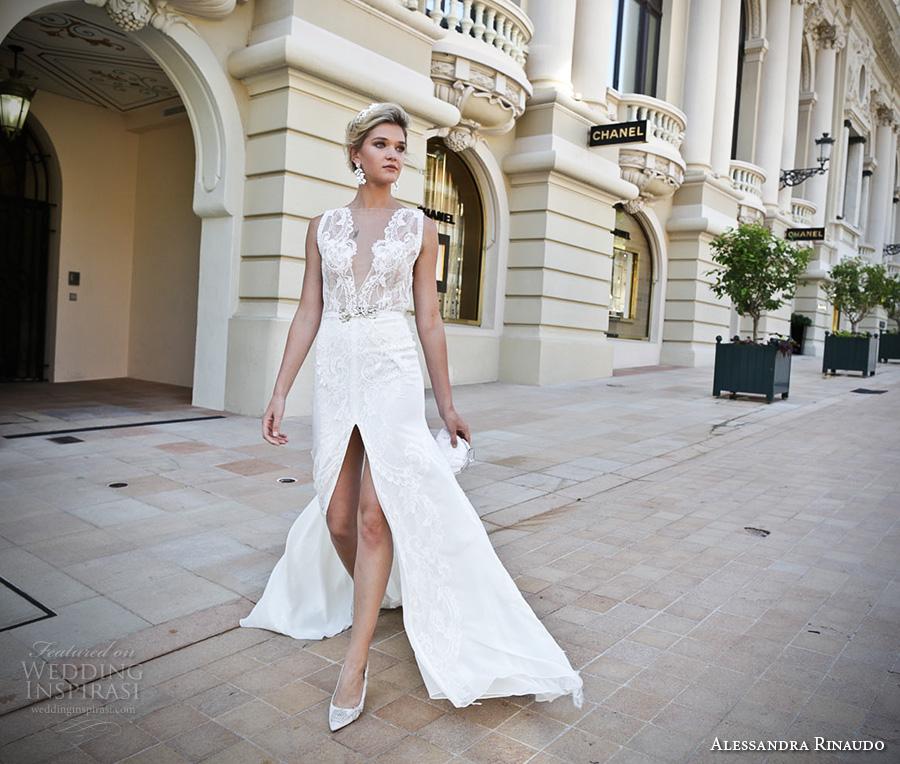 A Line Organza Wedding Dress 66 Popular alessandra rinaudo bridal sleeveless