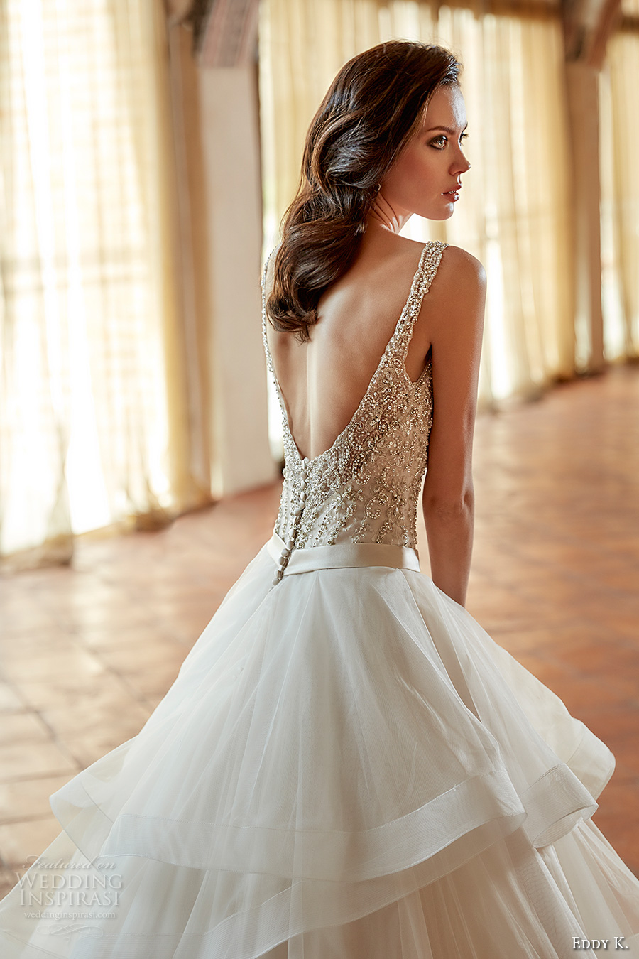 Tiered Wedding Dresses 82 Marvelous eddy k couture bridal