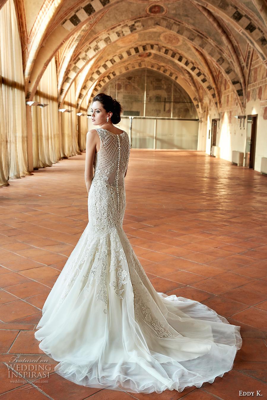 Orange Wedding Gown 16 Vintage eddy k couture bridal
